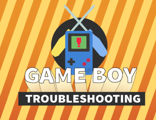 Game Boy Troubleshooting Guide Artwork: Created For HowChoo